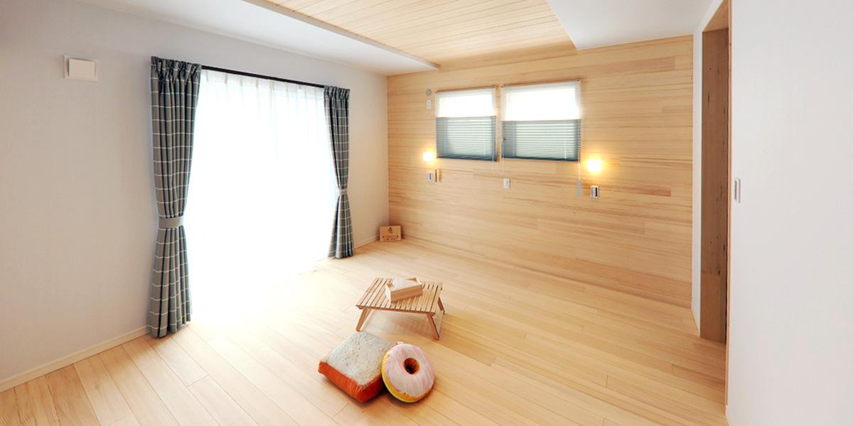 もみの木の内装材で建てるもみの木の家