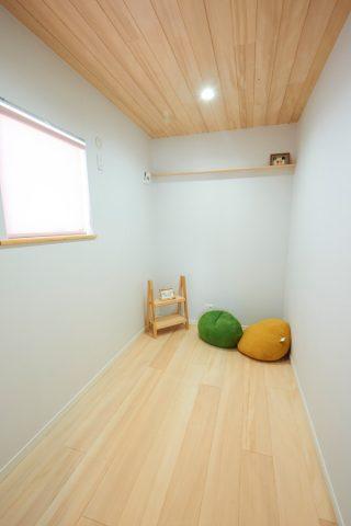 子ども部屋・書斎・倉庫など生活スタイルにあわせて使い分けられる多目的ルーム